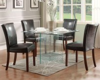 Homelegance Alouette 5pc Square Dining Table Set Available Online in Dallas Fort Worth Texas