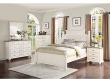 Homelegance Floresville 5pc Antique White Queen Bedroom Group Available Online in Dallas Fort Worth Texas