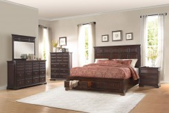 Homelegance Cranfills 5pc Cherry Queen Bedroom Group Available Online in Dallas Fort Worth Texas