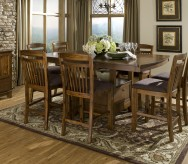 Homelegance Marcel 9pc Counter Height Dining Room Set Available Online in Dallas Fort Worth Texas