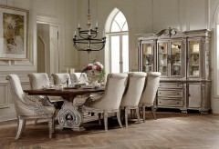 Homelegance Orleans II 9pc Antiqued White Dining Table Set Available Online in Dallas Fort Worth Texas