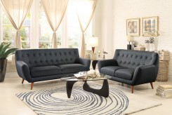 Homelegance Anke 2pc Dark Grey Sofa & Loveseat Set Available Online in Dallas Fort Worth Texas