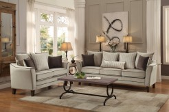 Homelegance Ouray 2pc Pebble Textured Velvet Sofa & Loveseat Set Available Online in Dallas Fort Worth Texas
