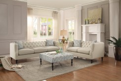 Homelegance Radley 2pc Beige Sofa & Loveseat Set Available Online in Dallas Fort Worth Texas