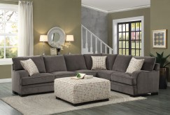 Homelegance Alamosa 4pc Brown Sectional Set Available Online in Dallas Fort Worth Texas
