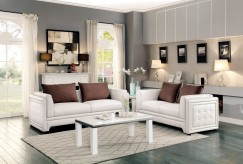 Homelegance Azure 2pc Off White Sofa & Loveseat Set Available Online in Dallas Fort Worth Texas