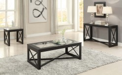 Homelegance Berlin 3pc Black Coffee Table Set Available Online in Dallas Fort Worth Texas