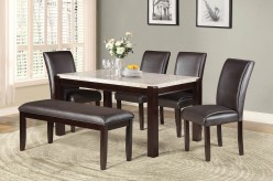 Homelegance Festus 5pc Dark Cherry Dining Table Set Available Online in Dallas Fort Worth Texas