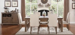 Homelegance Mill Valley 7pc Oak Dining Table Set Available Online in Dallas Fort Worth Texas