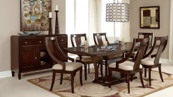 Homelegance Aubriella 7pc Cherry Dining Table Set Available Online in Dallas Fort Worth Texas