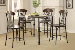 Homelegance Loyalton 5pc Counter Height Dining Room Set Available Online in Dallas Fort Worth Texas
