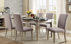 Homelegance Mendel 7pc Grey Dining Table Set Available Online in Dallas Fort Worth Texas