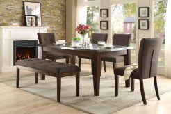 Homelegance Dorritt 5pc Cherry Dining Table Set Available Online in Dallas Fort Worth Texas