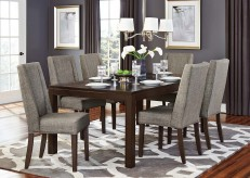 Homelegance Kavanaugh 7pc Dark Brown Dining Table Set Available Online in Dallas Fort Worth Texas