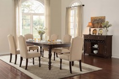 Homelegance Benwick 7pc Dark Cherry Dining Room Set Available Online in Dallas Fort Worth Texas