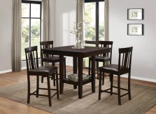 Homelegance Diego 5pc Espresso Counter Height Room Set Available Online in Dallas Fort Worth Texas