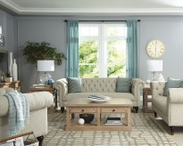 Coaster Donny Osmond 2pc Beige Sofa & Loveseat Set Available Online in Dallas Fort Worth Texas