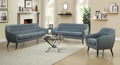 Coaster Dawson 2pc Aqua Sofa & Loveseat Set Available Online in Dallas Fort Worth Texas