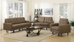 Coaster Kesson 2pc Brown Sofa & Loveseat... Available Online in Dallas Fort Worth Texas