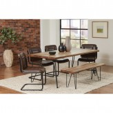 Coaster Chambler 5pc Rectangular Dining Table Set Available Online in Dallas Fort Worth Texas