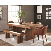 Coaster Hillsborough 5pc Honey Rectangular Dining Table Set Available Online in Dallas Fort Worth Texas