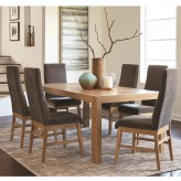Coaster Kingston 7pc Rustic Rectangular Dining Table Set Available Online in Dallas Fort Worth Texas