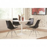 Coaster Lowry 5pc Black Dining Table Sets Available Online in Dallas Fort Worth Texas