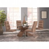 Coaster Nessa 5pc Dining Table Set Available Online in Dallas Fort Worth Texas