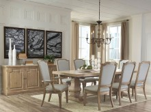 Coaster Florence 9pc Rectangular Dining Table Set Available Online in Dallas Fort Worth Texas