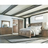 Coaster Florence 5pc Solid Pine King Bedroom Group Available Online in Dallas Fort Worth Texas