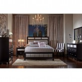 Coaster Barzini 5pc Black King Platform Bedroom Group Available Online in Dallas Fort Worth Texas