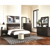 Coaster Matheson 5pc Graphite Queen Platform Bedroom Group Available Online in Dallas Fort Worth Texas