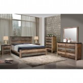 Coaster Sembene 5pc Multicolor King Panel Bedroom Group Available Online in Dallas Fort Worth Texas