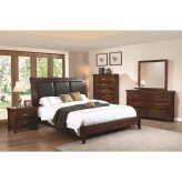 Coaster Noble 5pc Rustic Oak Queen Panel Bedroom Group Available Online in Dallas Fort Worth Texas