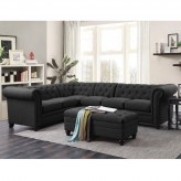 Coaster Roy 2pc Grey Sectional ... Available Online in Dallas Fort Worth Texas