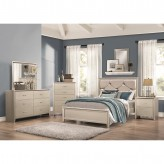Coaster Lana 5pc Silver King Panel Bedroom Group Available Online in Dallas Fort Worth Texas