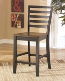 Alonzo Brown Counter Height Barstool Available Online in Dallas Fort Worth Texas