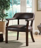 Brown Captain's Chair Available Online in Dallas Fort Worth Texas