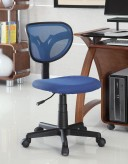 Coaster Landon Blue Task Chair Available Online in Dallas Fort Worth Texas