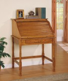 Coaster Palmetto Oak Desk Available Online in Dallas Fort Worth Texas