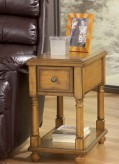 Breegin Oak Chair Side Table Available Online in Dallas Fort Worth Texas