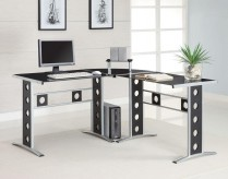 Coaster Modern L Shape Desk Available Online in Dallas Fort Worth Texas