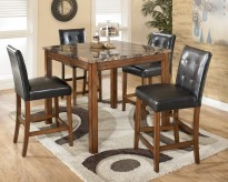 Ashley Theo 5pc Square Counter Height Dining Set Available Online in Dallas Fort Worth Texas