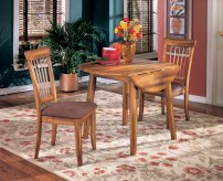 Ashley Berringer Square Drop Leaf Table Available Online in Dallas Fort Worth Texas
