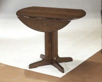Ashley Stuman Round Drop Leaf Table Available Online in Dallas Fort Worth Texas