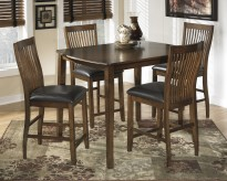 Ashley Stuman Rectangular 5pc Counter Height Table Set Available Online in Dallas Fort Worth Texas