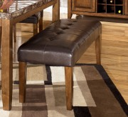 Lacey Medium Brown Upholstered Bench Available Online in Dallas Fort Worth Texas