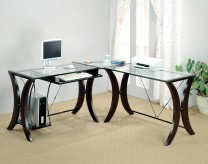 Coaster Landon L-Shape Desk Available Online in Dallas Fort Worth Texas