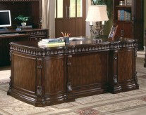 Coaster Tucker Executive Desk Available Online in Dallas Fort Worth Texas