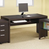 Coaster Skylar Glass Top Desk Available Online in Dallas Fort Worth Texas